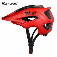 WEST BIKING Ultralight MTB Bike Helmet Men Women Safety Cycling Casco Ciclismo Breathable Vents Mountain Road Bicycle Helmet