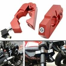 Замок для мотоцикла-Универсальный Алюминий CNC ручка мотоцикла дроссельная заслонка безопасности замок с 2 ключами для того, чтобы обеспечить велосипед, электрический скутер, МО