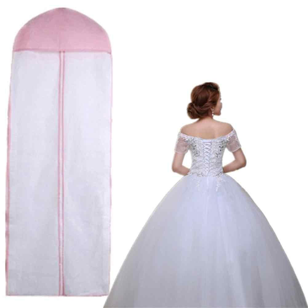 Vestido boda Transpirable Extra Grande Cubierta de almacenamiento viaje bolsas de prendas de