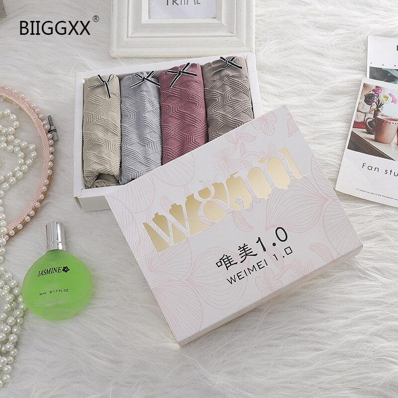 Купить biiggxx [4 шт] день красивое нижнее белье 10 бесшовные графеновые