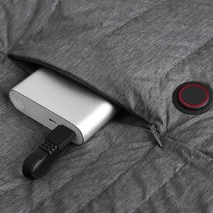Image 5 - Xiaomi Mijia graphene intelligent temperature control fever goose down vest couple models 4 file temperature control