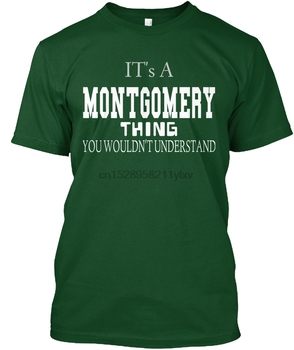 Men t shirt MONTGOMERY new SHIRT tshirts Women t-shirt image