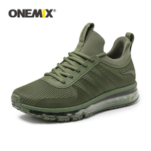 ONEMIX Men Running Shoes Fashion Casual High Top Sport