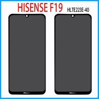 الأصلي جديد 6.1 بوصة ل هيسنس F19 HLTE223E-40 شاشة تعمل باللمس مع شاشة الكريستال السائل لوحة زجاج عدسة محول الأرقام