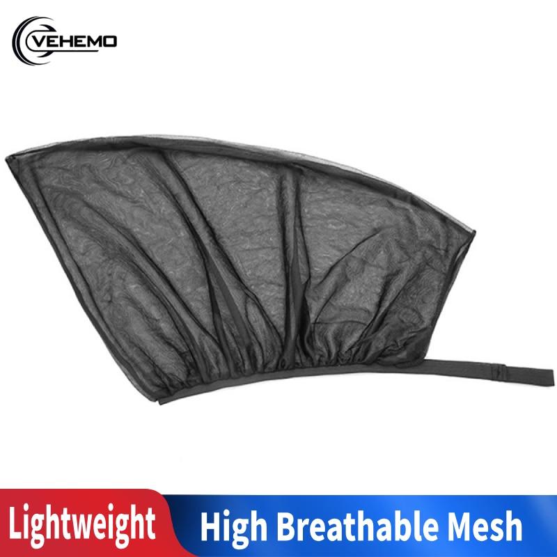 2Pcs Front Car Window Cover Sunshade Curtain UV Protection Shield Sunshade Shield Window Protector Window Car Universal Accessor