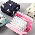 Waterproof Tampon Storage Bag Cute Sanitary Pad Pouches Portable Makeup Lipstick Key Earphone Data Cables Organizer