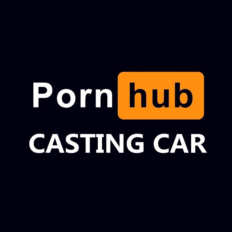 Porn Hub Casting Car Sticker Funny Adult Die Cut Pornhub Laptop Auto Motorcycles Exterior Accessories Vinyl Decal,20cmx9.1cm