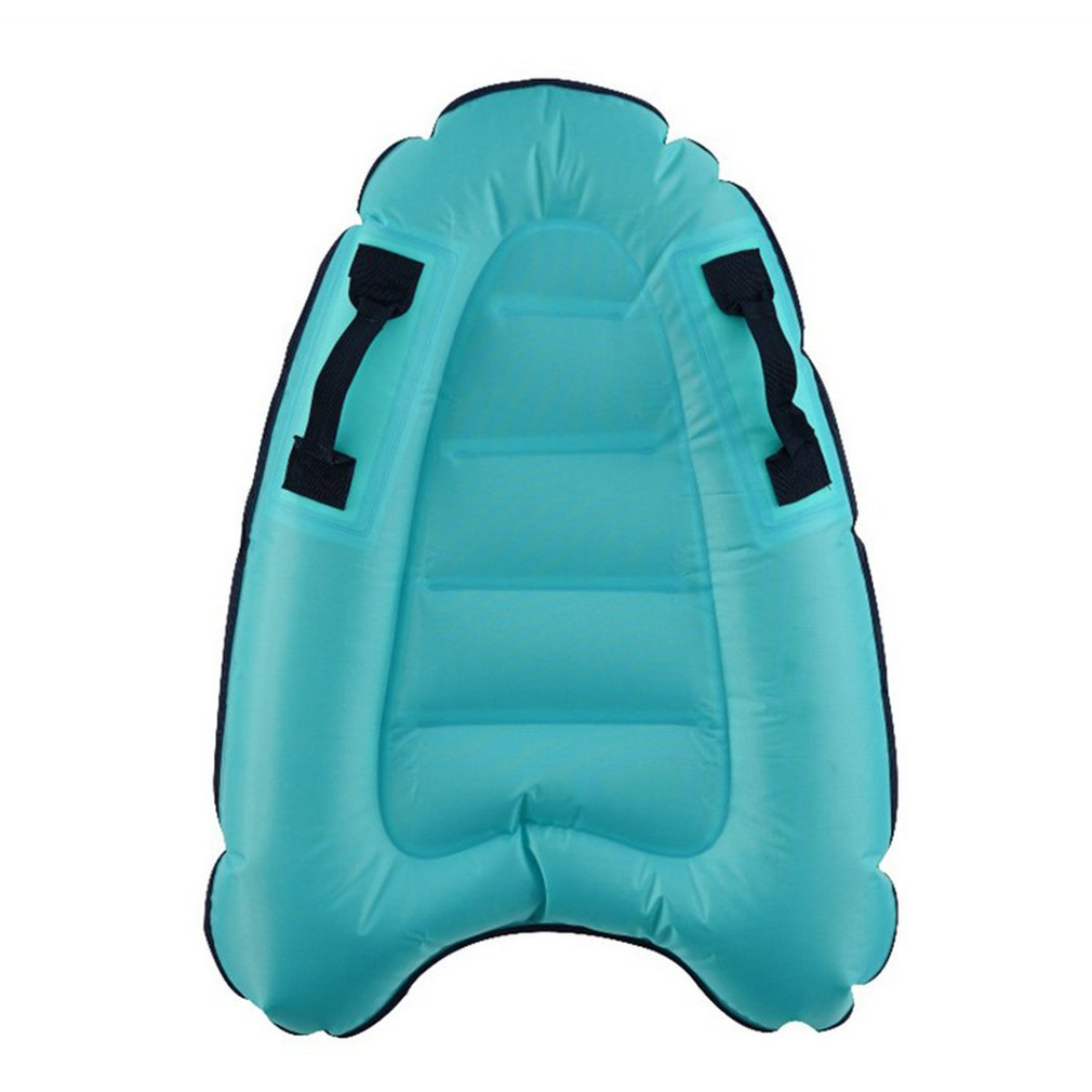 Oxford Cloth Plus Film Outdoor Inflatable Surfboard Portable Adult Children Safe Light Kick Board Sea Surfing Water Ski