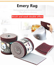 rag Super strong decontamination sponge emery sponge rag magic strong decontamination rag kitchen cleaning sponge tool
