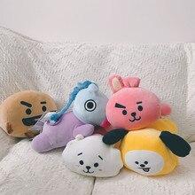 Kawaii leżący lalka zwierzę pluszowe uspokoić lalka koreański Pop TATA VAN COOKY CHIMMY SHOOKY KOYA RJ MANG lalki wysokiej jakości