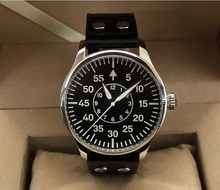 Часы мужские с сапфировым стеклом, 44 мм, GEERVO Swiss C3, светящиеся японские автоматические механические часы пилот NH35A, 15 20