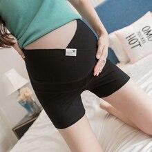 Legging Pregnant-Women Short Underpants Belly Maternity Summer Thin for Home-Wear 650-Across