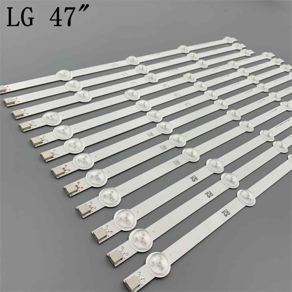 """12 peças/set NOVO 47 """"LG 47LN5400-CN 47LA620V tira CONDUZIDA 6916L-1174A 6916L-1175A 6916L-1176A 6916L-1177A, (3 * R1, 3 * R2, 3 * L1, 3 * L2),"""