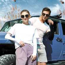Arm-Sleeves Cycling Running Uv-Protection Nylon 2PCS for Riding Outdoor Sports-Covers