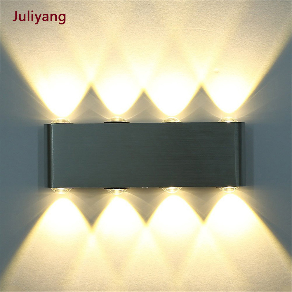 AC85-265V Aviation Aluminum LED Wall Lamp, Hotel Decorative Light ,backdrop Lights, Aisle / Bedroom Bedside Lamp