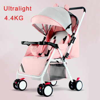 Protable baby stroller ultra light folding can sit or lie high landscape suitable 4 seasons high demand stroller Accessories цена 2017