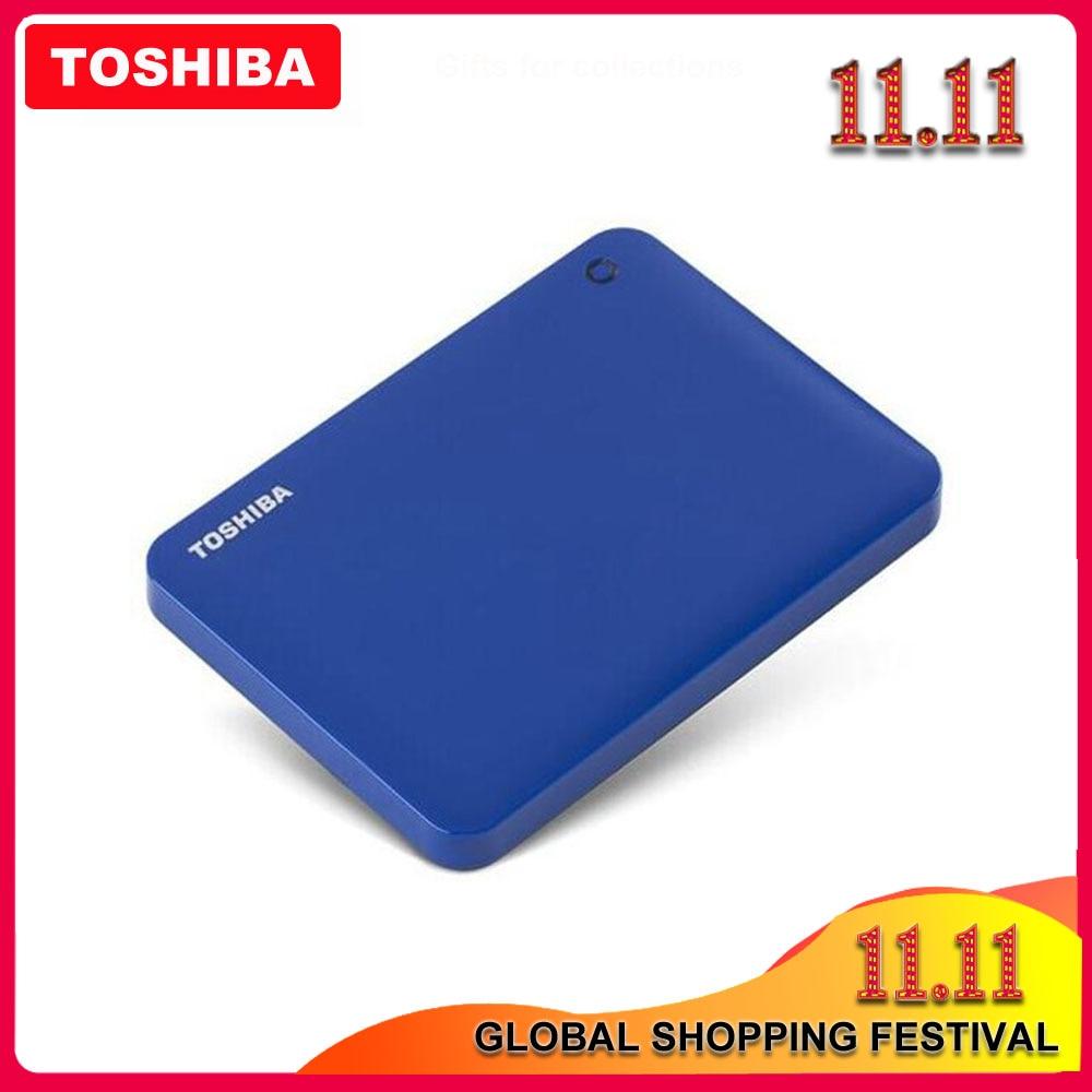 "Toshiba Canvio Advanced V9 USB 3.0 2.5 "" 1TB 2TB 3TB 4TB HDD Portable External Hard Drive Disk Mobile 2.5 For Laptop Computer-in External Hard Drives from Computer & Office"