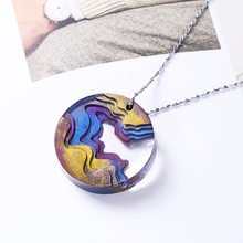 Super DIY Jewelry Making Mold Beach Island Nature Coastline Pendant Silicone Mold Pendants Jewelry Making Epoxy Resin UV Resin(China)
