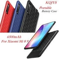 KQJYS 5000mah Caso del Caricatore Della Batteria Ultra Sottile Per Xiaomi Mi 9 8 Caso di Alimentazione Portatile Della Banca di Potere Della Batteria copertura di ricarica|Guscio per caricabatterie|   -
