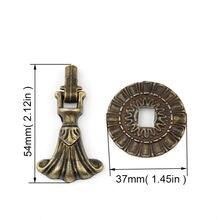 1 шт 54*37 мм античный узор комбинированная подвесная ручка