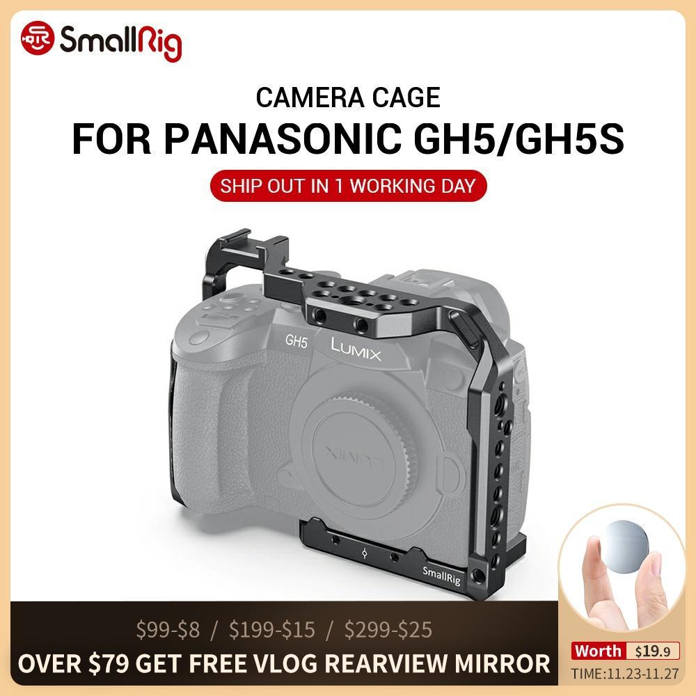 Kletka za kamero SmallRig za Panasonic GH5 in GH5S z nosilcem - Kamera in foto - Fotografija 1