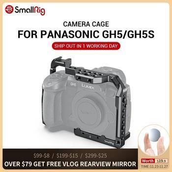 Cage de caméra SmallRig pour Panasonic GH5 et GH5S avec support de chaussure froide pour support de moniteur options de bricolage de lumière flash