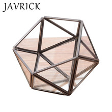 Creative Triangle Hemisphere Jewelry Storage Box Nordic Simple Modern Geometric Micro Landscape