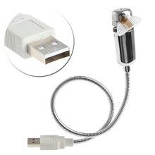 DIY гибкий программируемый вентилятор USB светодиодный мини RGB программируемый вентилятор D08B