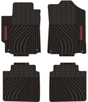 Car Floor Mats for 2006-2019 Year Toyota Prius Corrola RAV4 Camry Custom Carpets Waterproof Front and Rear Seat Full Set Rubber
