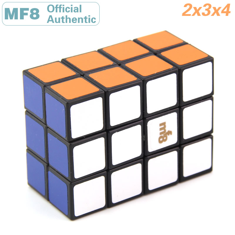 MF8 2x3x4 Magic Cube 234 Professional Neo Speed Puzzle Plastic Twisty Antistress Educational Toys For Children