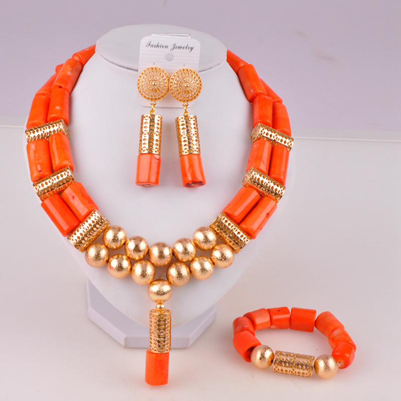 <font><b>nigeria</b></font> coral beads <font><b>jewelry</b></font> <font><b>set</b></font> bridal <font><b>jewelry</b></font> <font><b>sets</b></font> african beads necklaces <font><b>for</b></font> <font><b>women</b></font> image