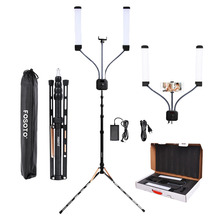 fosoto FT-450 Photographic Lighting Multimedia Extreme With Selfie Function 3000-6000K 224 Led Light lamp For Phone Video Camera