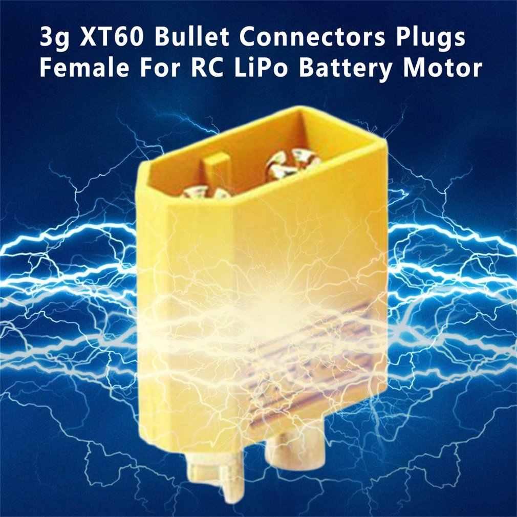 Niedrigen Widerstand für Hohe Strom Kapazität XT60 Stecker Weibliche Kugel Stecker stecker Für RC Lipo Batterie Anschlüsse