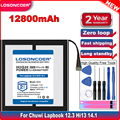 CWI534 12800 мАч планшет Батарея для Chuwi Lapbook 12,3 Hi13 14,1 Батарея планшетный ПК с сенсорным экраном 7-Отсоединяемый провод батареи