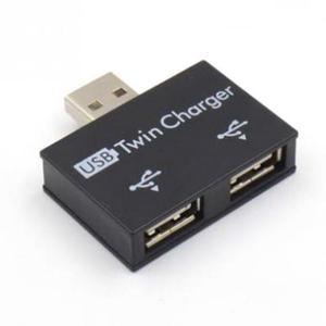 Mini 2 Ports USB 2.0 Splitter