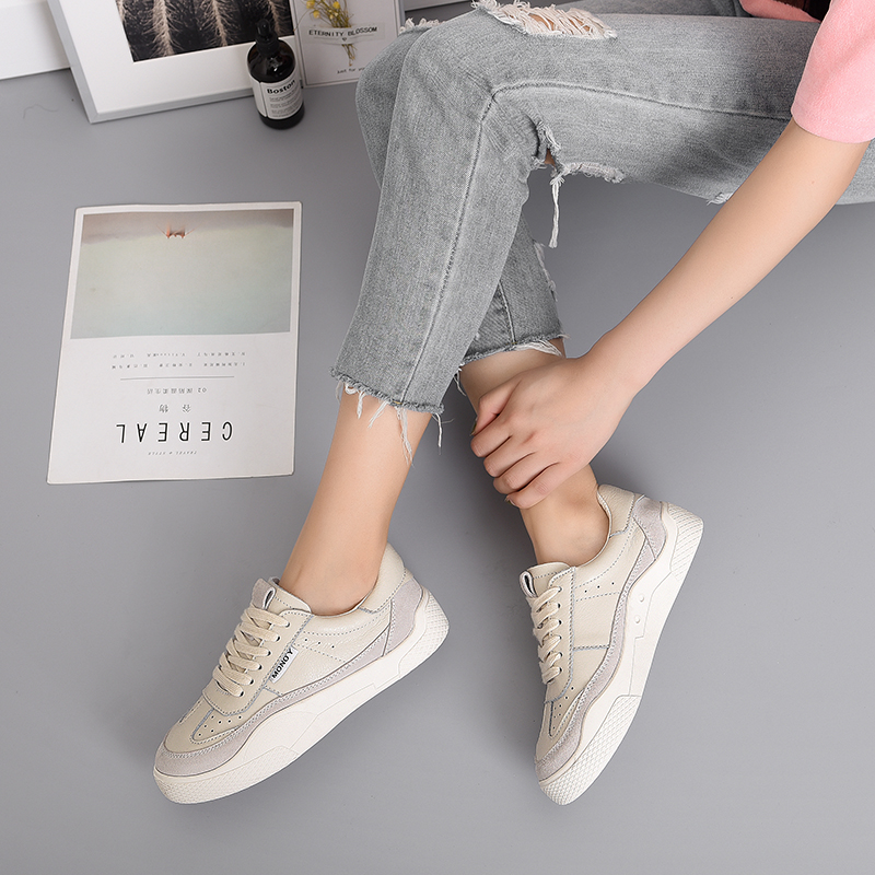 Women Shoes White Sneakers Spring And Autumn Comfortable Flat Bottom Casual Shoes Sneaker Basket Trainers Tenis Feminino 2020