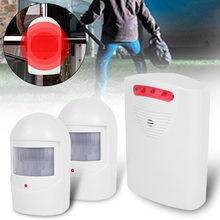 Wireless Home Sicherheit Motion Detektor Alarm PIR MP Alert Infrarot Sensor Anti-diebstahl Motion Detektor Alarm System Sirene(China)