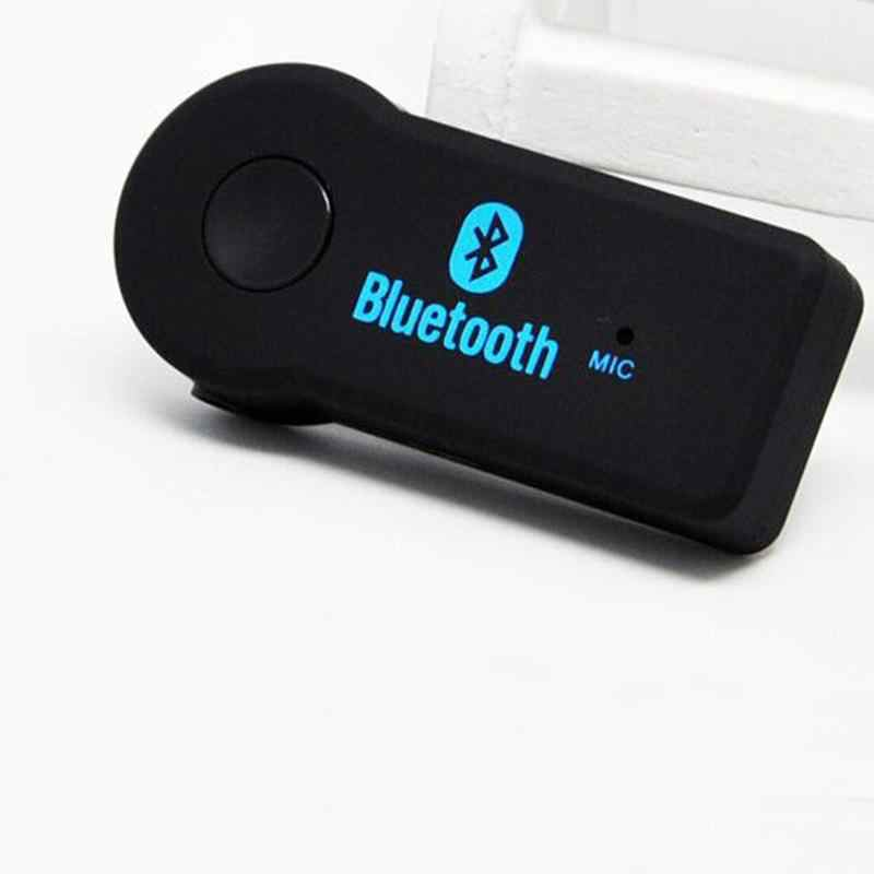 Car Bluetooth Music Receiver Bluetooth Car Handfree Kit A2DP Stereo Wireless Aux Audio Music Receiver Vehicle Mp3 Player Adapter