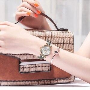 Image 4 - SUNKTA New Rose Gold Women Watches Business Quartz Watch Ladies Top Brand Luxury Female Wrist Watch Girl Clocks Relogio Feminin