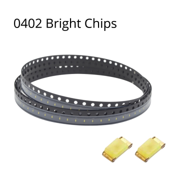 цена на 1000pcs SMD 2.0~3.2V 20MA SMT chip 0402 Ultra Bright white red green blue yellow Pink Orange LED diode lamp light Emitting Diode