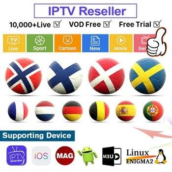 IPTV France Subscription Poland Smart IPTV Reseller Panel Europe Albania World Reseller IPTV Canada Belgium Finland with Credit фото