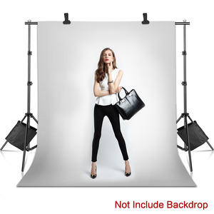 Image 5 - Photo Background Backdrop Stand Support System Kit Heavy Duty Adjustable With Carrying Case For Muslin Photo Video Studio