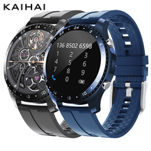kaihai smartwatch men smart watch men's wristwatch Calculator call watches temperature reloj inteligente hombre Fitness bracelet