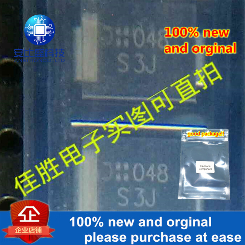 50pcs 100% New And Orginal 1N5406 S3J 3A600 DO214AB Silk-screen S3J In Stock