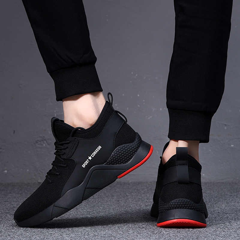 Frühling Männer Schuhe Gummi Schuhe Turnschuhe männer Laufschuhe Tragen-Beständig Casual Schuhe männer Koreanische-stil trendy Schuhe Reise Tr