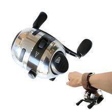 Коэффициент скорости 28: 1 рыболовная катушка для рогатки съемка