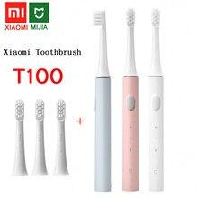 Xiaomi – Brosse à dents électrique à ultrasons Mijia T100, pour adulte,automatique, étanche, rechargeable par USB,