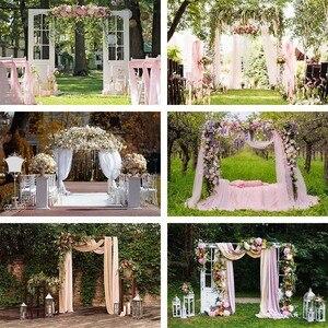 Image 1 - Avezano Photography Background Wedding Engagement Flower Curtain Location Backdrop Photocall Photo Studio Photozone Decor Props