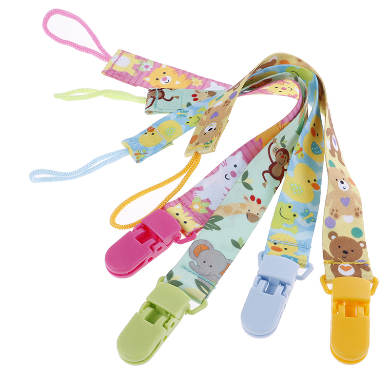 New Baby Pacifier Clip Pacifier Chain Dummy Clip Nipple Holder For Nipples Children Pacifier Clips Soother Holder Anti-drop Belt