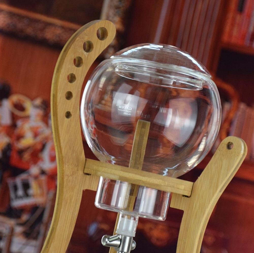 Новые поступления холодное заваривание/капельная Кофеварка Термостойкое стекло для бариста корейский стиль современный Esspresso чай пивовар... - 3